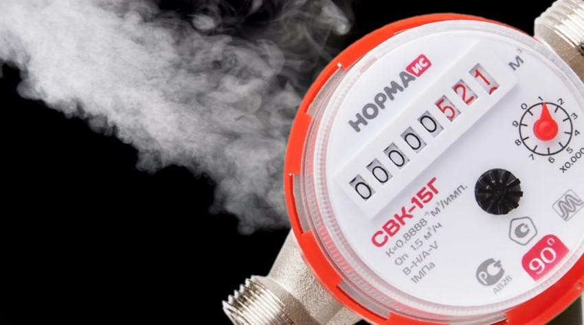 Водомеры, монтируемые на трубопроводы ГВС, как правило, содержат специальную маркировку на корпусе