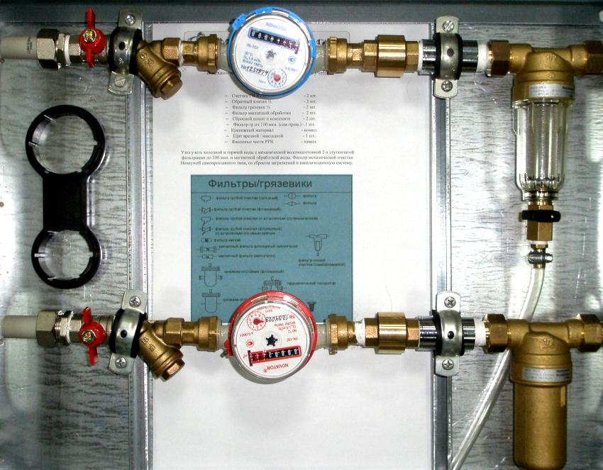 На итоговую стоимость услуг холодного и горячего водоснабжения оказывает влияние число жильцов, зарегистрированных в конкретной квартире