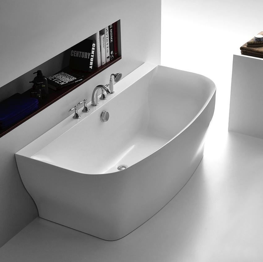 Материалы, применяемые для производства ванн, имеют, как правило, высокую плотность, поэтому сами конструкции довольно увесистые