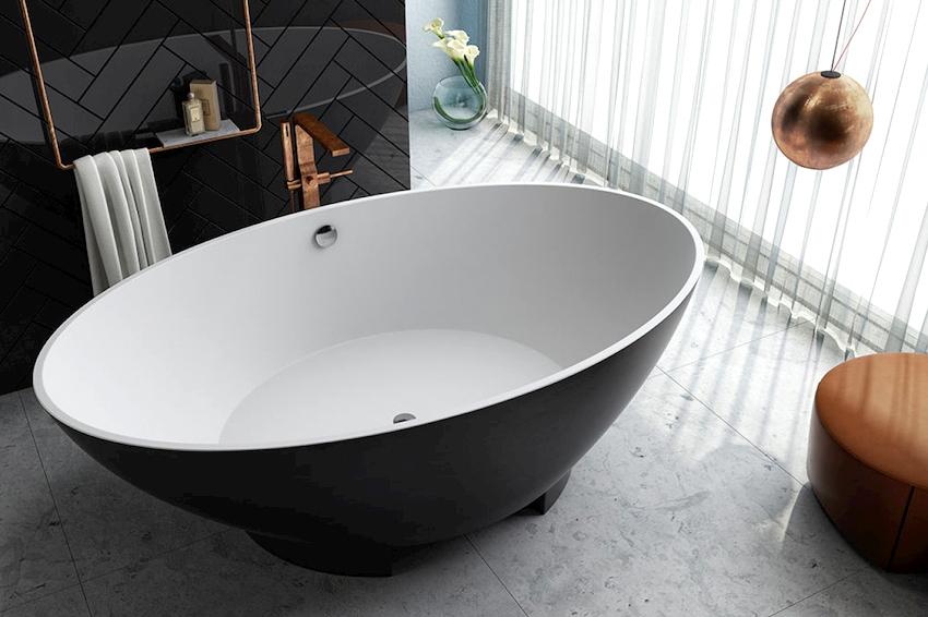 Остановив свой выбор на отдельностоящей ванне необходимо помнить, что это не просто элемент сантехники, а основной предмет в оформлении помещения