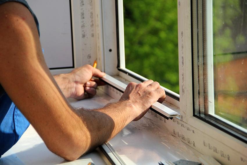 Размер ламелей жалюзи должен соответствовать внутренней части окна