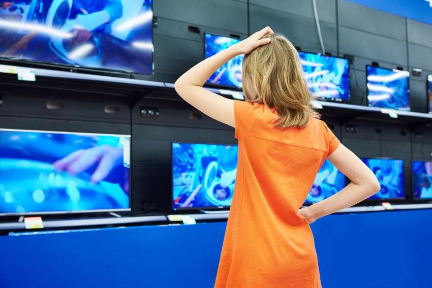 Телевизоры с диагональю 24 дюйма популярны еще и потому, что имеют низкую цену
