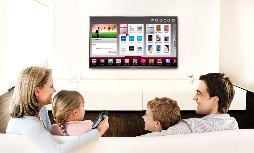 Ошибкой является покупка телевизоров максимально больших размеров в маленькие комнаты