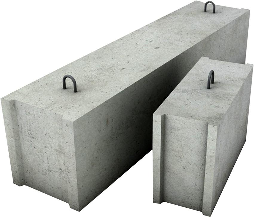 Фундаментные блоки согласно ГОСТу, производятся в 15 типоразмерах