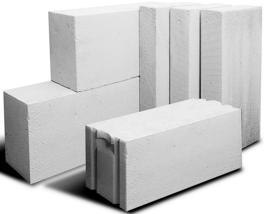 Малогабаритные фундаментные блоки могут иметь длину 40 и 60 см
