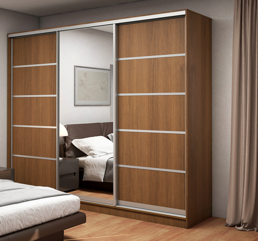 Кромочная фурнитура выполняет декоративную функцию и защищает кромки шкафа от повреждений
