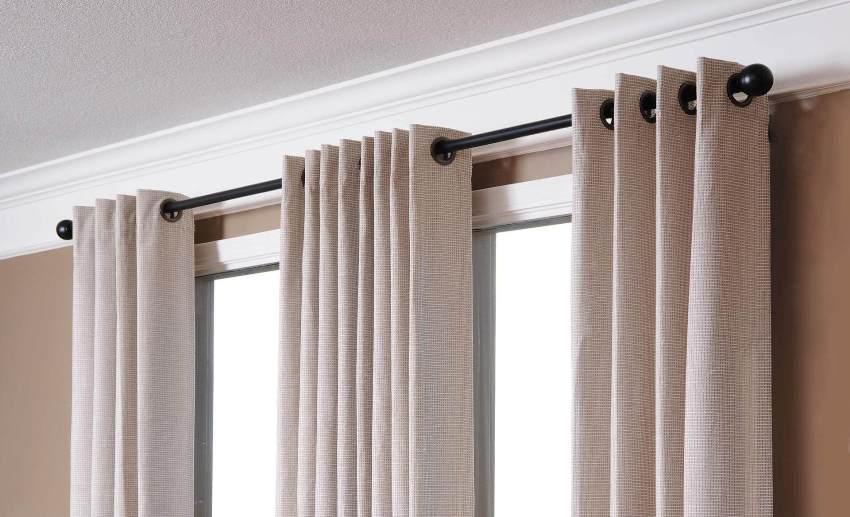 Верный выбор гардин — гарантия того, что шторы не будут провисать