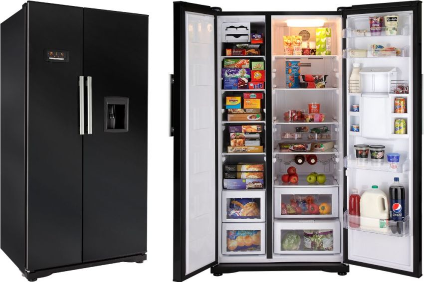 Любителям смузи и прохладительных напитков понравятся модели side by side с автоматическим лёдогенератором