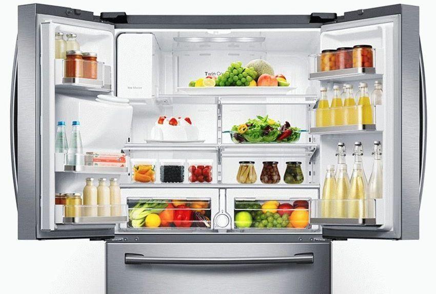 В холодильниках side by side Shivaki имеется возможность регулировать температурный режим отдельно в каждой камере
