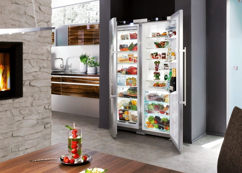 Холодильник VESTFROST VF 395-1 SBW рекомендуется устанавливать для кухонь с большой площадью