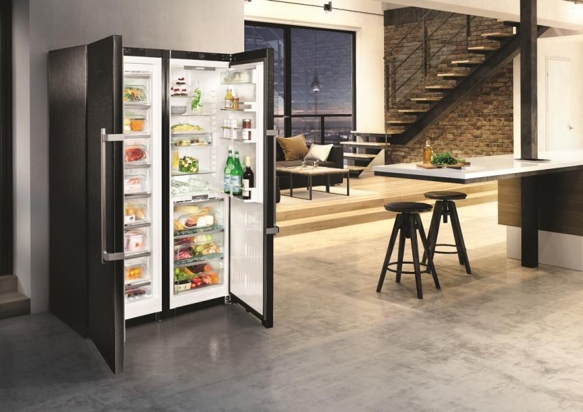 Холодильники Либхер side by side состоят из двух независимых частей, которые можно транспортировать раздельно