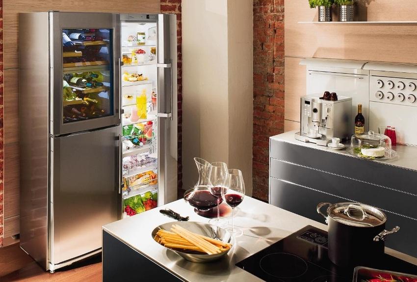 Модели премиум-класса side by side Daewoo имеют климатическую зону для вина