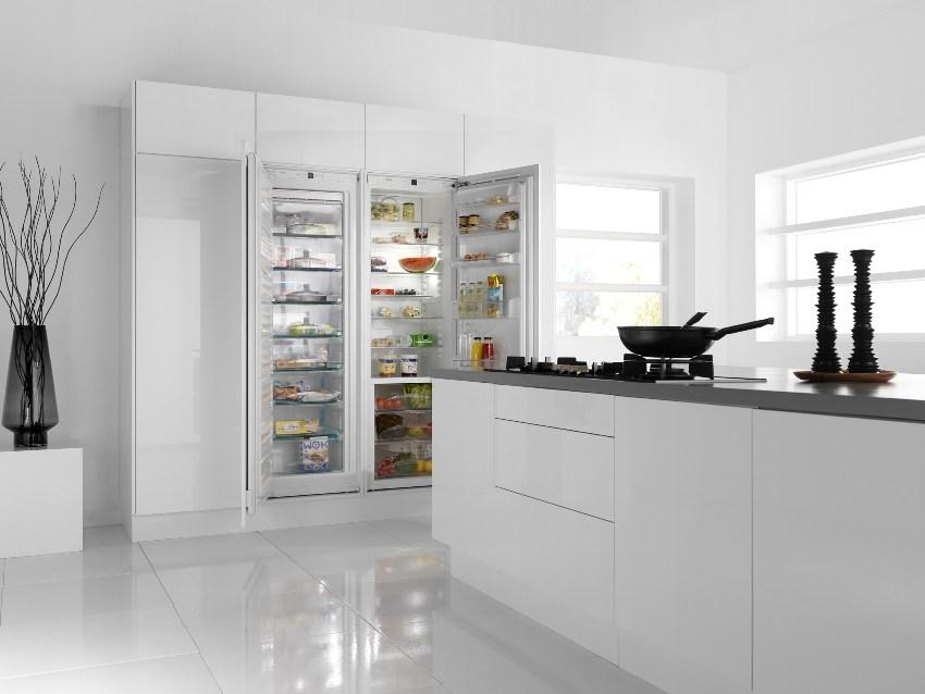 Холодильники одинаково подходят как для большой семьи, так и для тех, кто предпочитает закупать и заготавливать продукты впрок