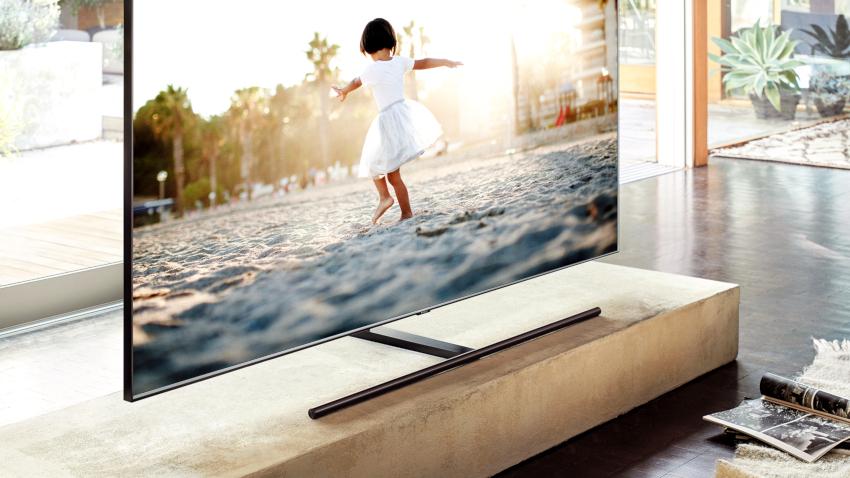 Именно в LED-телевизорах компании «Самсунг» впервые была использована система QLED