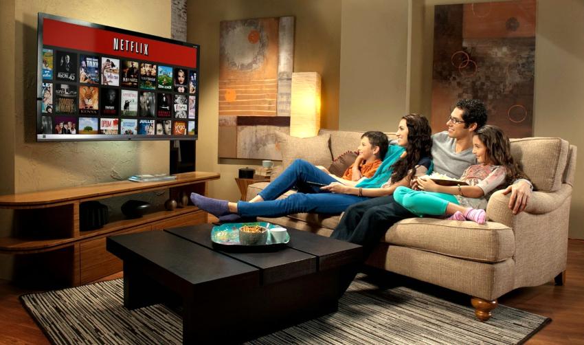 Для комнаты площадью 17-18 м² лучшими считаются телевизоры с размером 28-32 дюйма