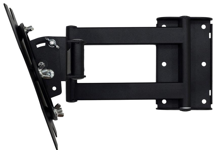 В зависимости от конструкции кронштейны могут быть фиксированными, наклонными и наклонно-поворотными