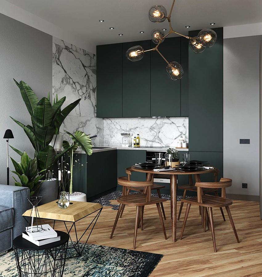 Чаще всего, шкаф-пенал занимает все пространство от пола до потолка