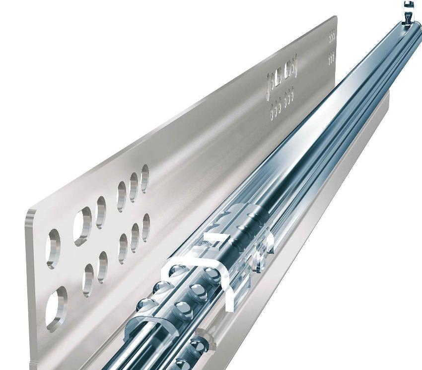 Тандембоксы Hettich изготавливаются из высокопрочной стали, поэтому они надежны и долговечны