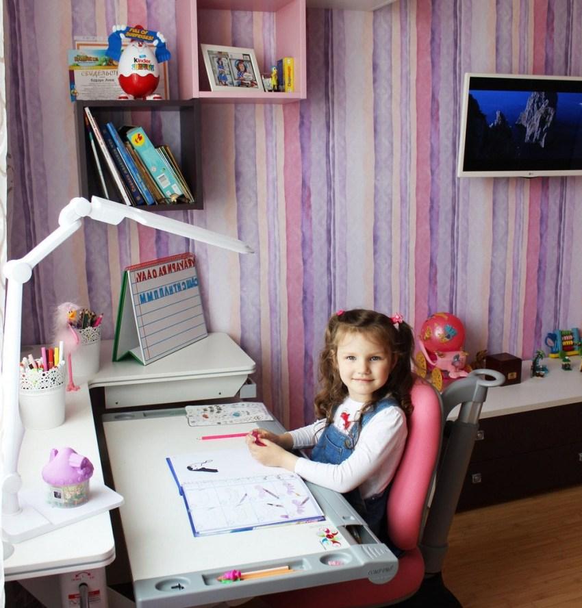 Основным критерием при выборе настольной лампы для детей школьного периода является максимальное сохранение их зрения