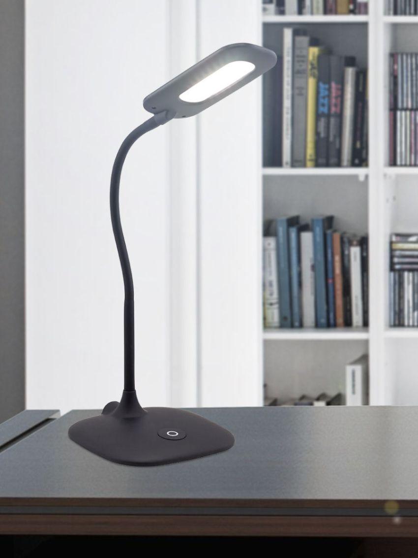 По типу выключателя различают лампы: с выключателем на шнуре, сенсорное управление, с регулятором света, с кнопочным выключателем на корпусе лампы