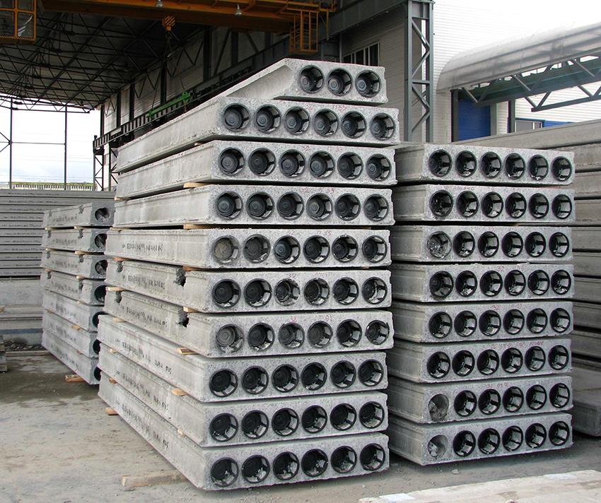 Пустотные плиты перекрытия делятся на безопалубочные и круглопустотные