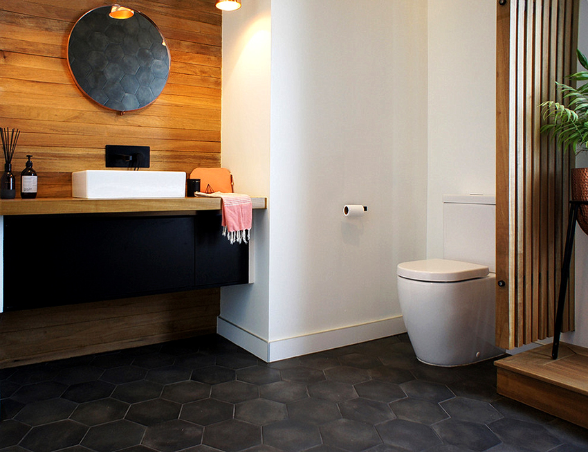 В новостройках встречаются туалетные комнаты площадью 4 м² и более