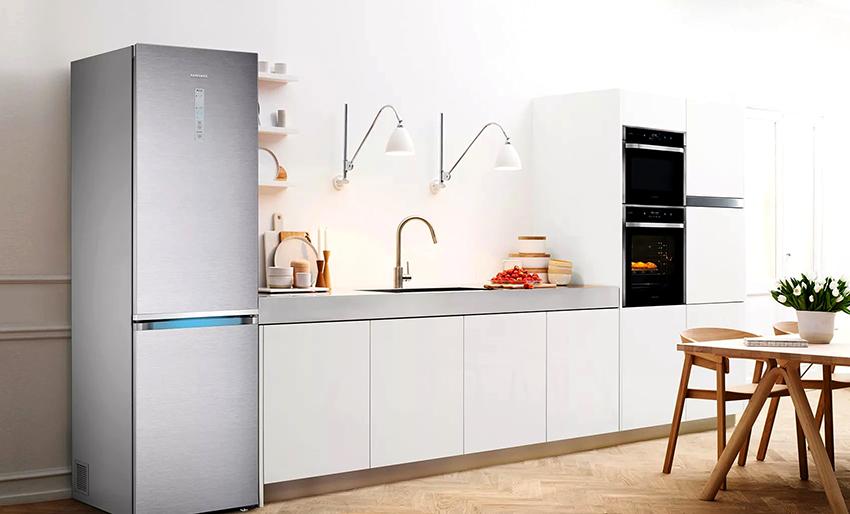 У марки Samsung особой популярностью пользуются модели высотой – 180 см, глубиной – 55 см, шириной – 60 см