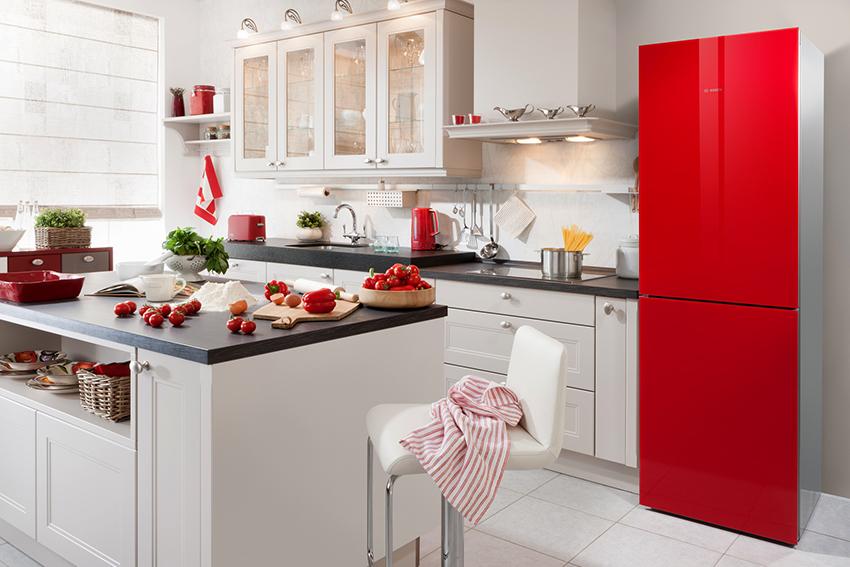 Компания Bosch предлагает много видов холодильников в разнообразных размерах