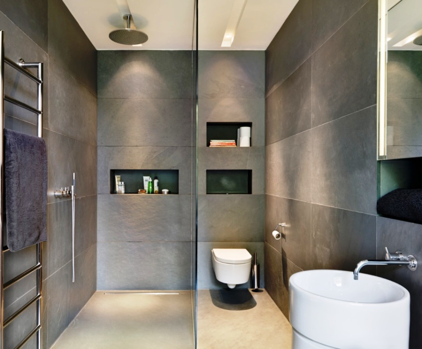 Стандартная инсталляция - подходит для установки в помещениях без ограничения в размерах