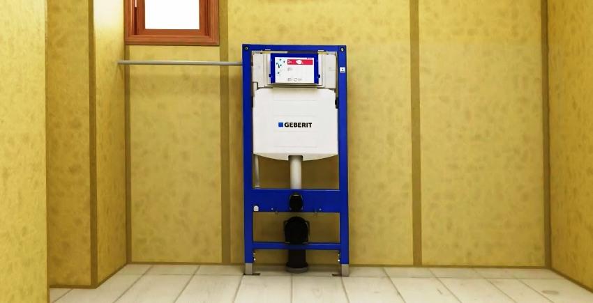 Инсталляция Geberit является одним из лидеров на современном рынке