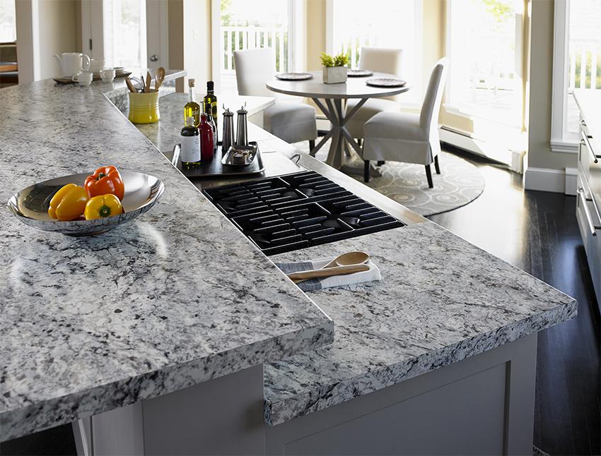 Основную роль в обустройстве кухни играет высота от пола до столешницы