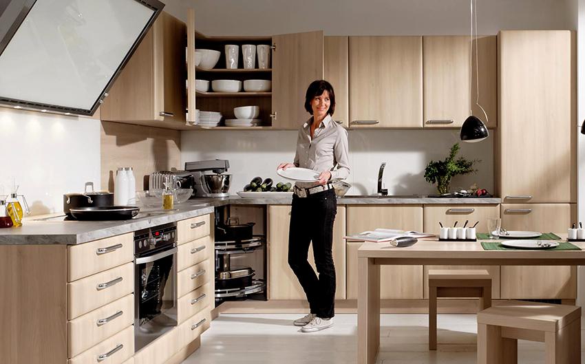 Условно кухня делится на такие зоны: низкая, средняя и высокая