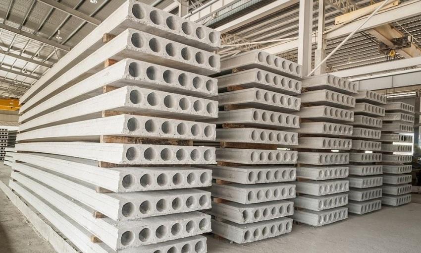 Готовые плиты перекрытия относятся к категории сборных железобетонных изделий