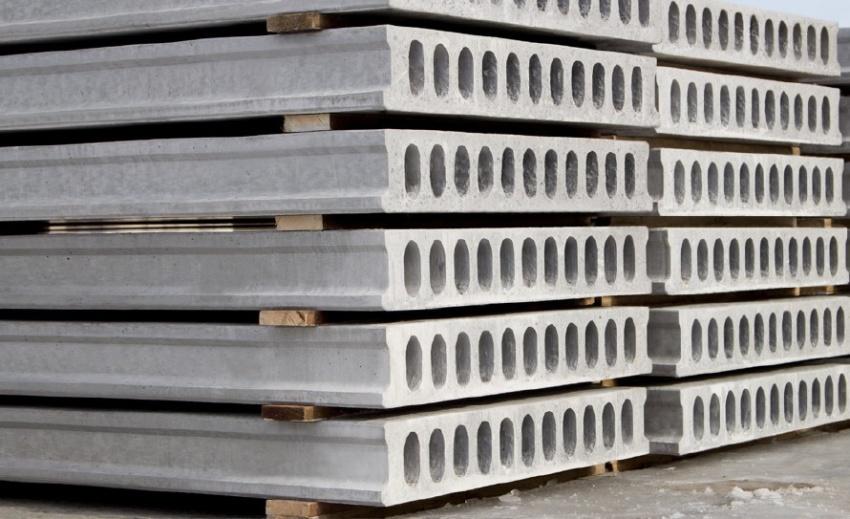 Стандартные плиты перекрытия выдерживают значительные нагрузки – до 1250 кг/м²