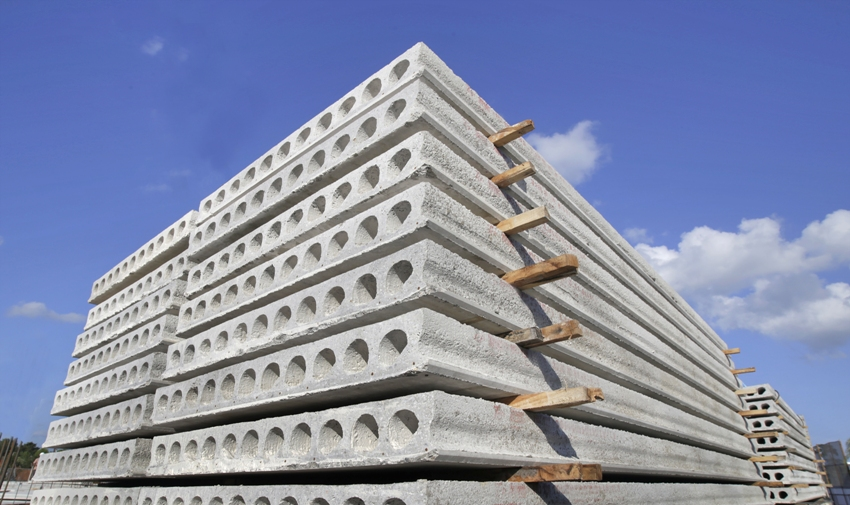 Размеры пустотных плит удобны для перекрытия пролетов длиной до 12 м, а форма – для прокладки коммуникаций