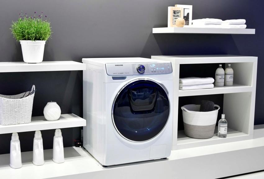 Габариты стиральных машин с фронтальной загрузкой чаще всего внушительные