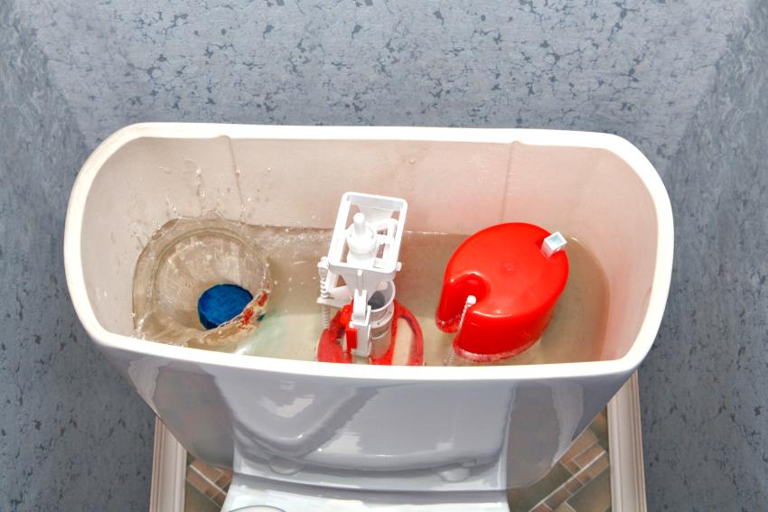 Независимо от объема бачка, сливную арматуру можно настроить на определённое количество воды