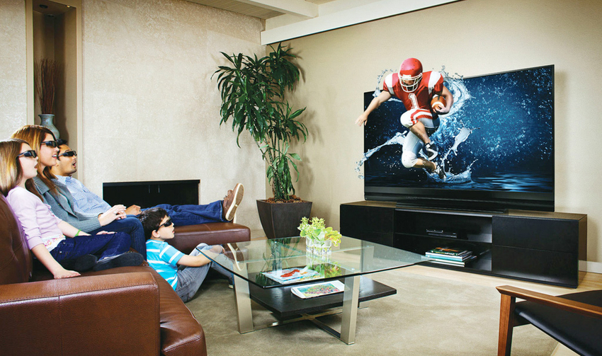 Из-за небольшого количества доступного контента телевизоры 3Д быстро утратили свою актуальность