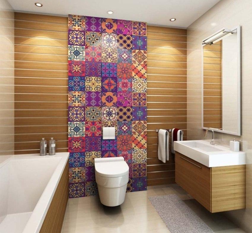 В городских квартирах под ванную и туалет обычно отводятся небольшие помещения