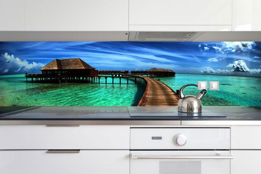 Стеновые панели для отделки фартука сделают кухню неповторимой и оригинальной