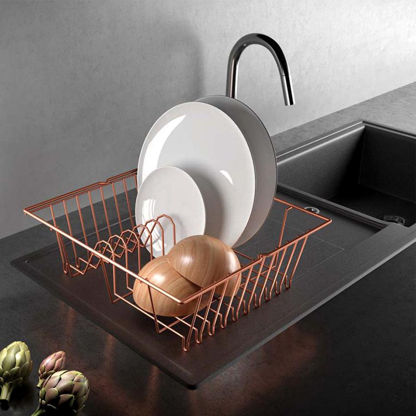 Сушилка должна хорошо смотреться на кухне и быть выполнена из качественного материала