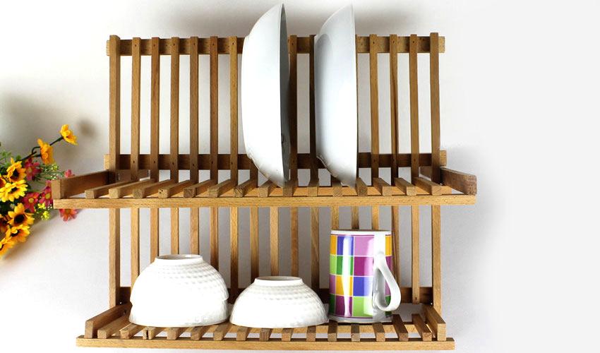 Сушки для посуды размером 60 см считаются самыми универсальными