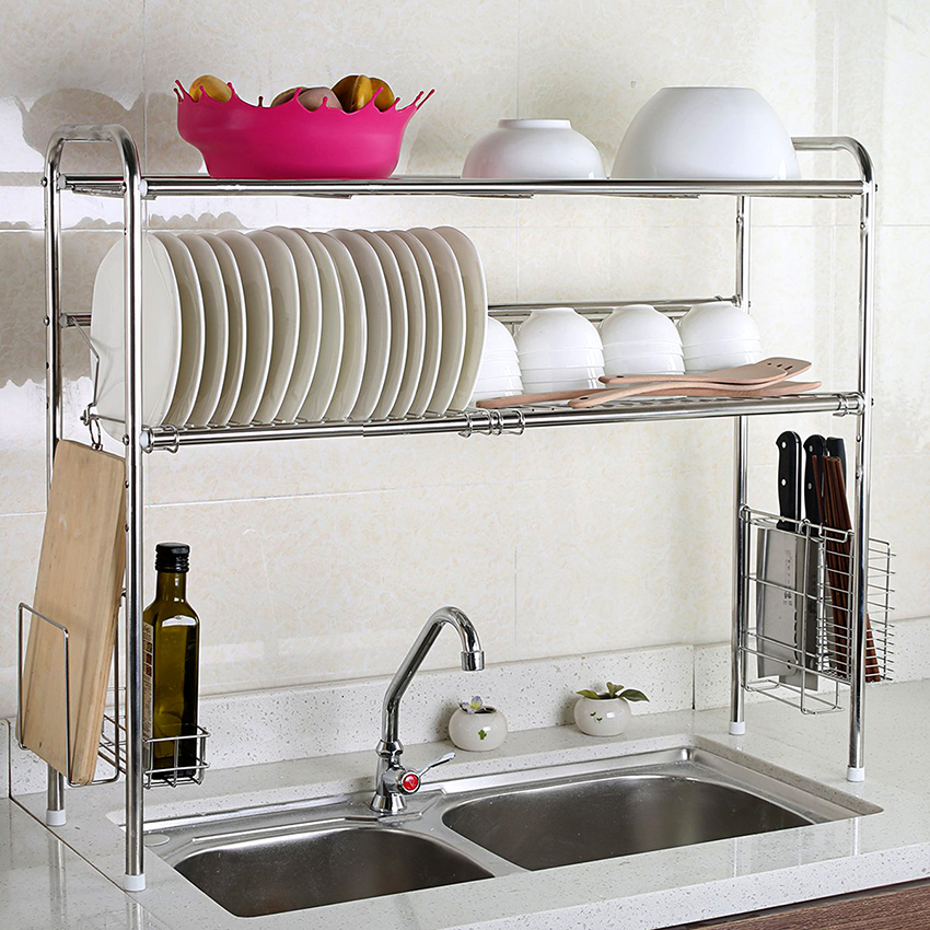 Двухъярусные изделия считаются лучшим решением для стандартной кухни