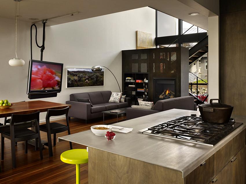 Телевизоры с LСD-экранами обладают высоким уровнем контрастности