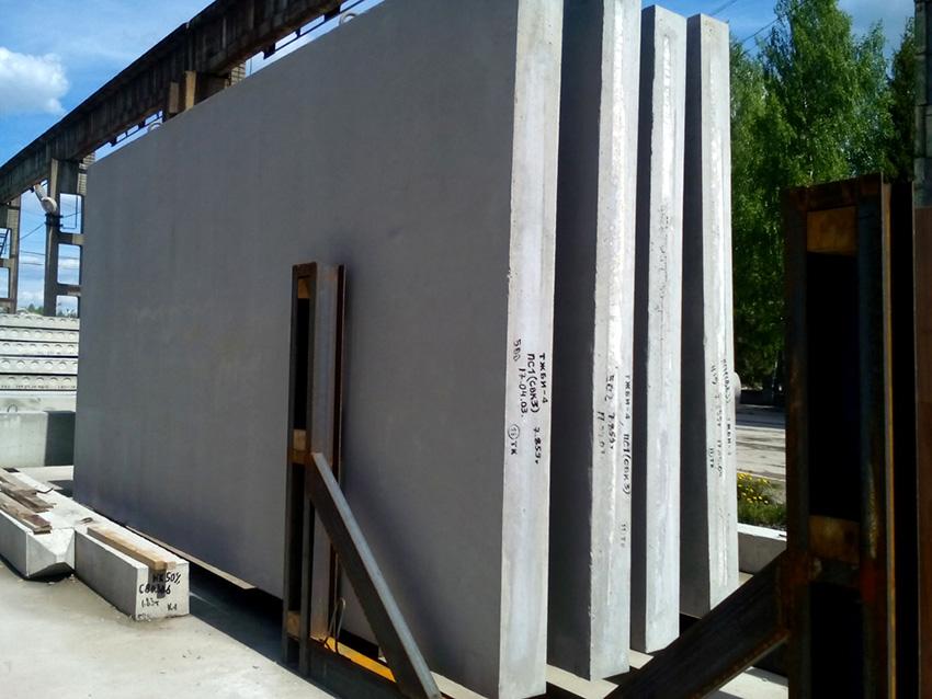 Стеновые железобетонные блоки выпускаются разных размеров и форм
