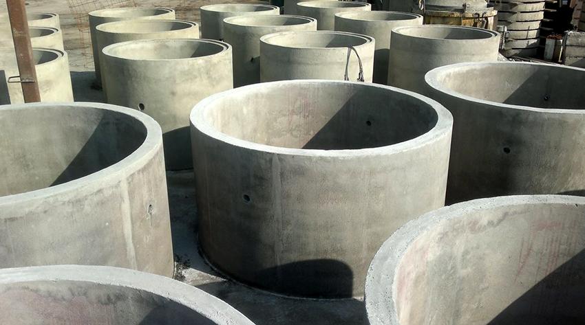 Железобетонные кольца применяют для строительства колодцев, прокладки коммуникаций, тоннелей
