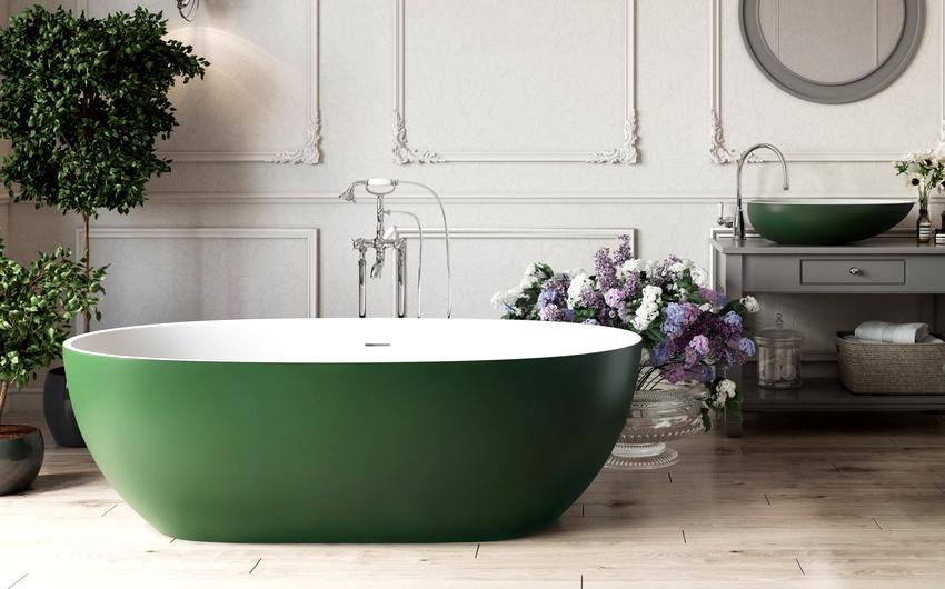 В продаже имеются как отдельные экземпляры, так и целые комплекты состоящие из ванны, унитаза и раковины одного цвета