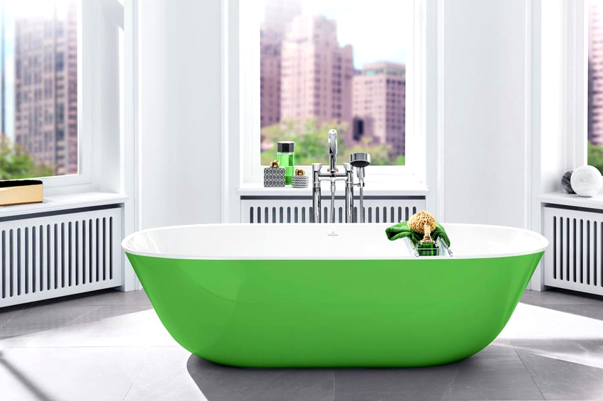 Оптимальная ширина ванны – 75-80 см, но выбирая изделие лучше ориентироваться на свою комплекцию и личные предпочтения