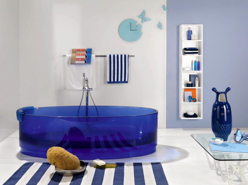 Акриловые ванны имеют небольшой вес, который варьируется от 15 до 25 килограмм