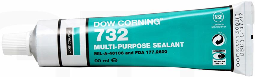 Силиконовый герметик Dow Corning является нетоксичным, эластичным и достаточно упругим